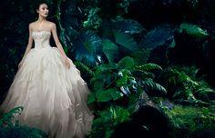 Shu Pei for Fall 2013 Vera Wang Bridal campaign