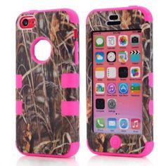 3 Pieces Heavy Duty Tree Camo Hybrid Hard Soft Silicone Case for iPhone 5c | eBay