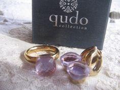 Die Zaubernasen - Qudo FIRENZE Set Gold - light violet