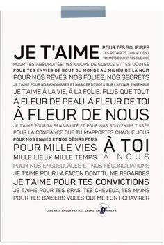 Words in the Poster - Verkoop van inspirerende en inspirerende posters - Apocalypse Now And Then Love Quotes, Inspirational Quotes, Love Posters, French Quotes, Positive Attitude, Just Love, Cool Words, Sentences, Affirmations