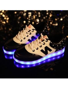 Colorful Adult Led Lights Usb Charging Colorful Shoes Mesh Mens Models Luminous Shoes Shoes High Safety Men's Shoes Shoes