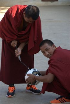 Support a Maratika monk The Monks