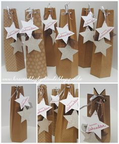 Paper Packaging, Bottle Packaging, Diy Paper, Paper Crafts, Handmade Crafts, Diy Crafts, Wrapped Wine Bottles, Bazaar Crafts, Ramadan Decorations