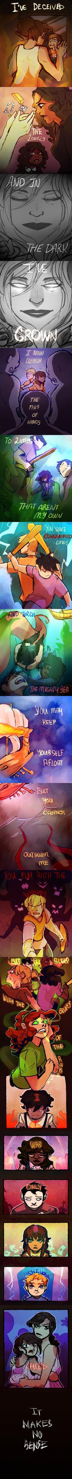 Percy Jackson - Bones of a Rabbit   art by joker-ace