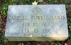 Carroll Powell Lewis