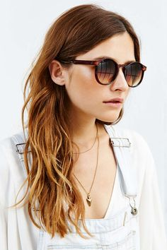 Arrow Round Sunglasses - Urban Outfitters