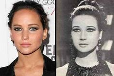 20 Celebrities and Their Historical Twins That'll Give You The Chills. - Likes