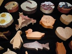 Intarsia puzzle boxes by dust in my hair