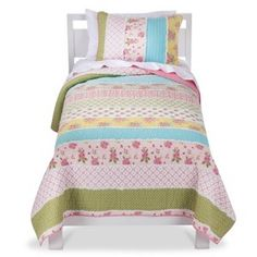 Castle Hill Cabbage Rose Quilt Set