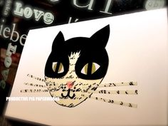 Handmade card specially made for Cat Lovers Personalized Cards, Cat Lovers, Batman, Superhero, Cats, Handmade, Fictional Characters, Gatos, Hand Made