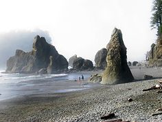 Ruby Beach in Washington state - Absolutely stunning place.