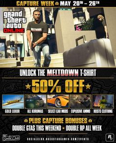 GTA 5's Next Weekly Event Begins Offering More Discounts and Bonuses