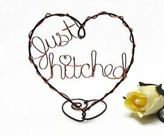 Just Hitched / Still Hitched Wire Heart Cake Topper >>> Read more reviews of the product by visiting the link on the image.