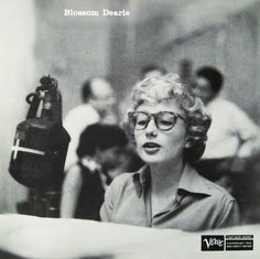 "Blossom Dearie - Verve 2037 [12"" LP] 1956 Photo: Charles Stewart"