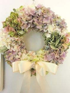 紫陽花のウェルカムリース : Flower Flower