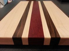 Exotic Wood Cutting Board VII by KCcuttingboards on Etsy