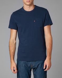 Levi's Sunset T Shirt with Pocket  http://theidleman.com/brands/levi-s/levi-s-sunset-t-shirt-with-pocket.html