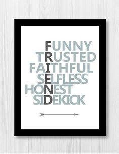 FREE Friendship Printable Perfect for Best Friend Gift #bestfriendgifts