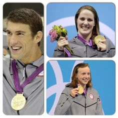 Golden Trio     Michael Phelps, Missy Franklin and Katie Ledecky won three more gold medals for the U.S.