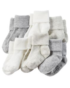 Baby Girl 6-Pack Socks | Carters.com