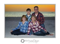 Family Matters - Family Portraits on the Beach - Bradenton, Florida