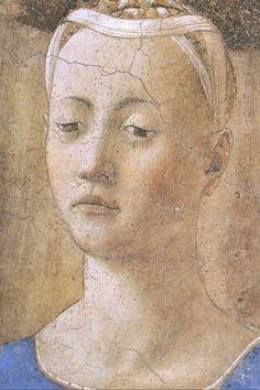Madonna del parto(particolare).