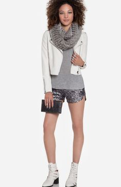 If only the shorts were different. Silver Belle at DailyLook