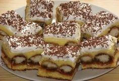 Kincsesbánya Hungarian Desserts, Hungarian Cake, Hungarian Recipes, Hungarian Food, Cake Cookies, Cupcakes, Nutella, Tiramisu, Cookie Recipes