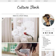 Blogger Template: Culture Shock