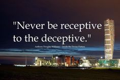 Don't be Deceived!