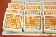 monogram sugar cookies  #LillyPulitzer #SouthernWeddings