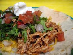 Frieda Loves Bread: Shredded Mexican Chicken: Converting a Crockpot recipe to Pressure Cooker
