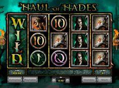 Игровой автомат Haul of Hades с моментальной выплатой.  Поднять уровень адреналина в крови и отправиться в страшноватое путешествие, целью которого является посещение Аида – древнего бога, чьи владения носят название «царство мертвых», поможет игровой автомат Haul of H