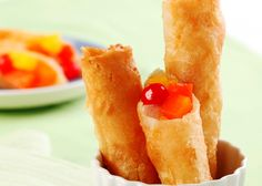 Experience the new Del Monte Philippines site, where you will find inspirations for a better life, from health to relationships, in the kitchen and beyond. Filipino Dishes, Filipino Desserts, Asian Desserts, Filipino Recipes, Filipino Food, Del Monte Recipes, Turon Recipe, Panlasang Pinoy Recipe, Pinoy Dessert