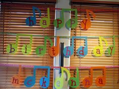 Fresh Beat Band Birthday Sign