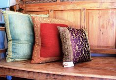 Indian Style Decorative Pillow Covers in Silk, Pashmina Wool, Sari – Worldcraft Industries Best Pillows For Sleeping, Pillow Quotes, Decorative Pillow Covers, Custom Pillows, Eggplant, Primary Colors, Indian Fashion, Your Design, Jazz