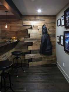 The basement is more than only an additional room and an additional floor in your home. Your basement may be the ideal space with unlimited choices. A little basement is quite appropriate for an of… Basement Layout, Rustic Basement, Basement Windows, Basement Bedrooms, Basement Walls, Basement Flooring, Basement Ideas, Flooring Ideas, Walkout Basement
