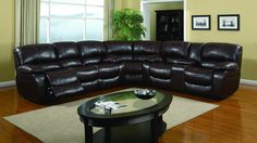 "Global U8122 Sectional - Dimensions: L142"" x D39"" x H40""."