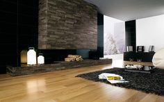Perfecta combinación: madera y negro! Si te gusta esta estilo, preguntanos 91 642 96 77