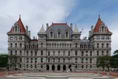 Building began on the current Capitol Building in Albany in 1867 and took over 30 years to complete at a cost of more than $25,000,000