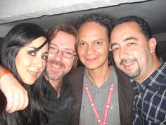 Leticia Huijara, Ernesto Contreras y Robespierre Rosado