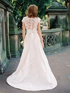Lace Back Wedding Dresses: Sareh Nouri 2014 Collection