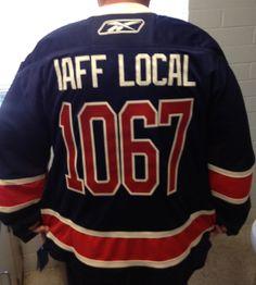 IAFF  local  IAFFLocal  1067  custom  hockey  jersey  hockeyjersey  twill b0ae5a260
