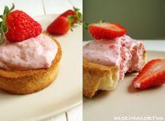 A Cozinha Coletiva: Strawberry Daiquiri Mini Pies