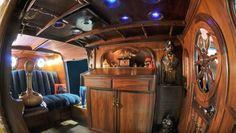 Nautik steampunk camper