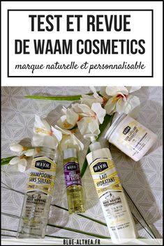 Aujourd'hui on parle d'une marque française et bio que j'ai acheté et testé pendant 1 mois. C'est la marque WAAM cosmetics.. Je te donne mon avis sur 4 produits ici : le shampoing , le masque capillaire , le lait pour le corps et leur huile de pépin de raisin !