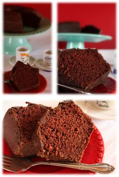 Bolo de Chocolate Vegan