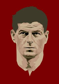 Steven Gerrard of Liverpool wallpaper. Lfc Wallpaper, Liverpool Fc Wallpaper, Liverpool Wallpapers, Liverpool Anfield, Liverpool History, Liverpool Football Club, Steven Gerrad, Legends Football, Football Art