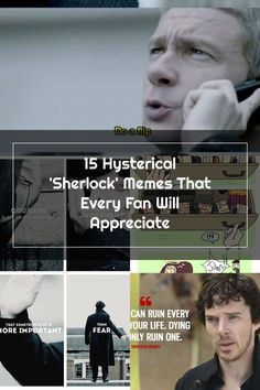 Let's take a moment to celebrate some outstanding Sherlock memes.