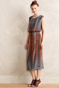 Maxi Dress ~Anthropologie ..nice with the ankle Sandal  Boots